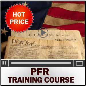 PFR Training