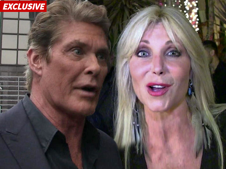 Hassellhoff Wants his Ex to Get a Job so He Can Stop Paying Spousal Support